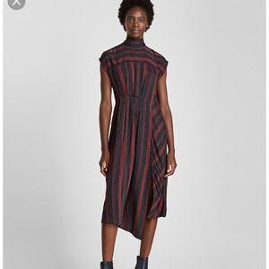 Zara High Neck Collection Dress